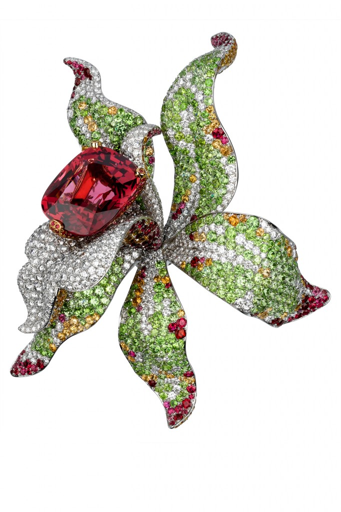 Broche Orchidee Cartier
